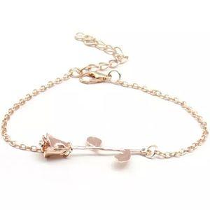 !!LAST ONE!! Rose Stem Rose Gold Bracelet